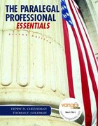 Paralegal Professional 2nd edition 9780132390835 0132390833