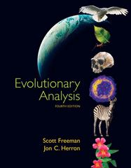 Evolutionary Analysis 4th edition 9780132275842 0132275848