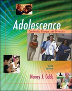 Adolescence 6th Edition 9780073194721 0073194727