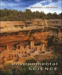 Environmental Science 1st Edition 9780073311869 0073311863
