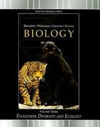 LSC Evolution, Diversity and Ecology: Volume III 1st edition 9780073353333 0073353337