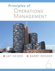 Principles of Operations Management 6th edition 9780131865129 0131865129