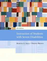 Instruction of Students with Severe Disabilities 6th edition 9780131143357 0131143352
