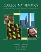 College Mathematics for Business, Economics, Life Sciences and Social Sciences 11th edition 9780131572256 0131572253