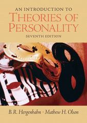 An Introduction to Theories of Personality 7th edition 9780131942288 013194228X