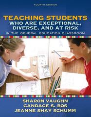Teaching Students Who Are Exceptional, Diverse, and at Risk in the General Education Classroom 4th Edition 9780205407736 0205407730