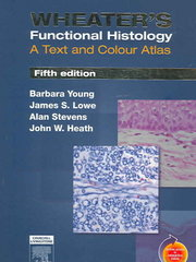 Wheater's Functional Histology 5th edition 9780443068508 044306850X