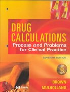 Drug Calculations 7th edition 9780323025621 0323025625