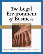 The Legal Environment of Business 9th edition 9780324204858 032420485X