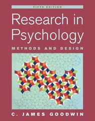 Research In Psychology 5th Edition 9780471763833 0471763837