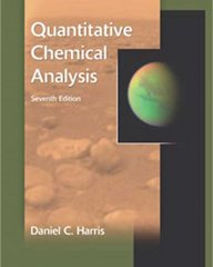 Quantitative Chemical Analysis 7th edition 9780716770411 0716770415
