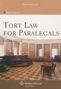 Tort Law for Paralegals 2nd edition 9780735558373 073555837X