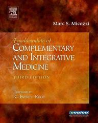 Fundamentals of Complementary and Integrative Medicine 3rd edition 9781416025832 1416025839