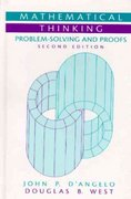 Mathematical Thinking 2nd Edition 9780130144126 0130144126