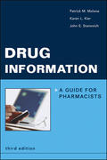 Drug Information: A Guide for Pharmacists 3rd Edition 9780071437912 0071437916