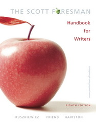 Scott Foresman Handbook for Writers (Book Alone) 8th edition 9780132370035 0132370034