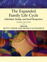 The Expanded Family Life Cycle 3rd edition 9780205488292 0205488293