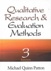 Qualitative Research & Evaluation Methods 3rd edition 9780761919711 0761919716
