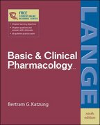 Basic and Clinical Pharmacology 9th edition 9780071410922 0071410929