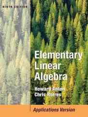 Elementary Linear Algebra with Applications 9th Edition 9780471669593 0471669598