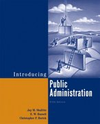 Introducing Public Administration 5th edition 9780321439437 0321439430