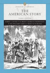 American Story, The, Combined Volume (Penguin Academics Series) 3rd edition 9780321445025 0321445023