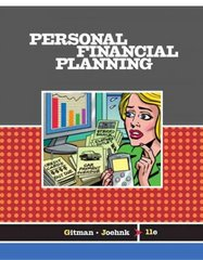 Personal Financial Planning 11th edition 9780324422863 0324422865