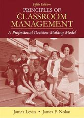Principles of Classroom Management 5th Edition 9780205482955 0205482953