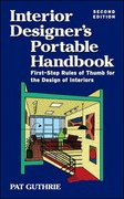 Interior Designer's Portable Handbook 2/E 2nd Edition 9780071439268 0071439269