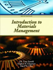 Introduction to Materials Management 6th Edition 9780132337618 0132337614
