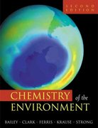 Chemistry of the Environment 2nd edition 9780120734610 0120734613