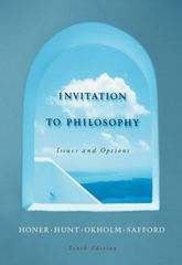 Invitation to Philosophy 10th edition 9780534564605 0534564607