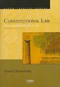 Constitutional Law 3rd edition 9780735557871 073555787X