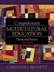 Comprehensive Multicultural Education 6th Edition 9780205492138 0205492134