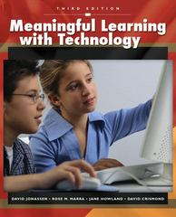 Meaningful Learning with Technology 3rd edition 9780132393959 0132393956