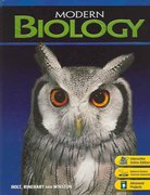 Modern Biology: Student Edition 2006 1st Edition 9780030651786 0030651786