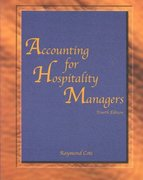 Accounting for Hospitality Managers 4th Edition 9780866122283 0866122281