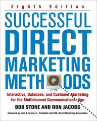 Successful Direct Marketing Methods 8th Edition 9780071458290 0071458298