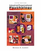 Industrial/Organizational Psychology 5th edition 9780495093060 0495093068