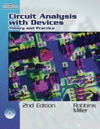 Circuit Analysis 4th edition 9781418038618 141803861X