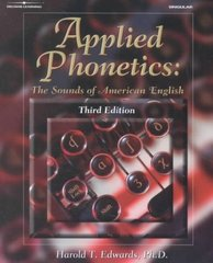 Applied Phonetics 3rd Edition 9780769302607 0769302602