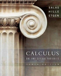 Calculus 10th Edition 9780471698043 0471698040