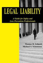Legal Liability: A Guide To Safety And Loss 1st edition 9780763744885 0763744883