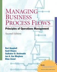 Managing Business Process Flows 2nd edition 9780131676862 0131676865