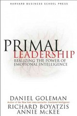 Primal Leadership 1st edition 9781578514861 157851486X
