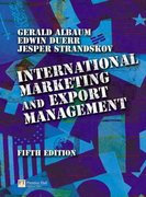 International Marketing and Export Management 5th edition 9780273686347 0273686348