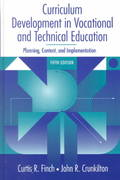 Curriculum Development in Vocational and Technical Education 5th edition 9780205279029 0205279023