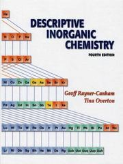 Descriptive Inorganic Chemistry 4th edition 9780716789635 0716789639