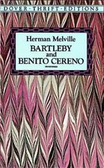 Bartleby and Benito Cereno 0 9780486264738 0486264734