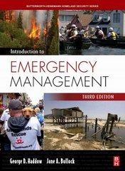 Introduction to Emergency Management 4th Edition 9781856179607 1856179605